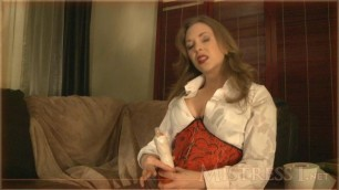 Mistress T - JOI for premature ejaculators