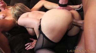 PornstarPlatinum Two mature women in action Erica Lauren Fucks Nina Hartley And Christian