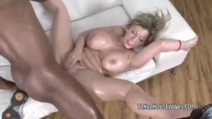 Mature hot slut Sara Jay gets pounded with some black dick