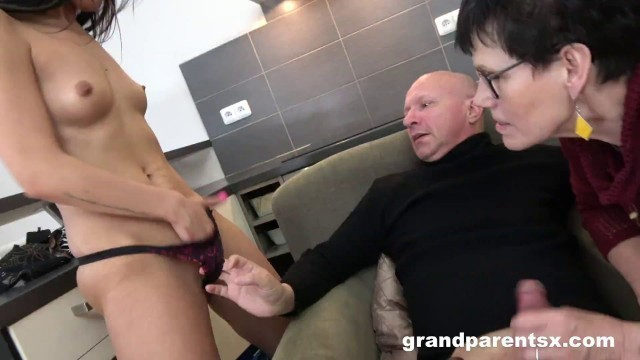 Grand Parents X A Fuck Lesson From A Pervert Mature Couple