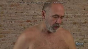 My First Daddy - Young guy sucks mature cock