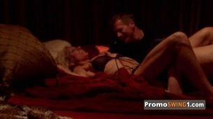Mature swingers balance their hornyness in different ways