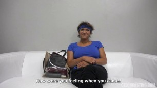 Ivana Mature Woman - Amateur Housewife At The Casting CzechCasting