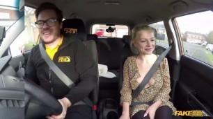 Fake Driving School – Elizabeth Romanova Petite Sex