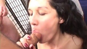 Lustful Bexxxy gets brutally gangbanged