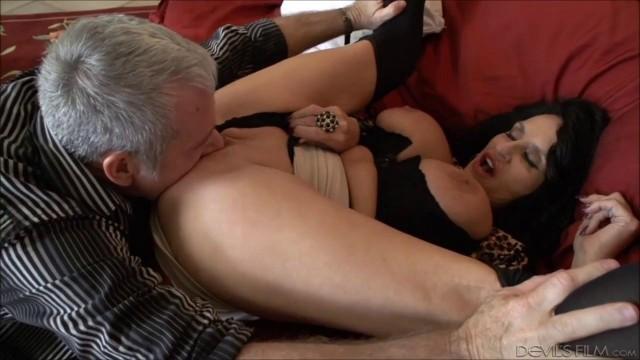 Rita Daniels Jay Crew incredible sex with a mature woman