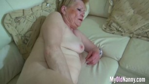 Horny Granny Enjoys Threesome Sex a Lot