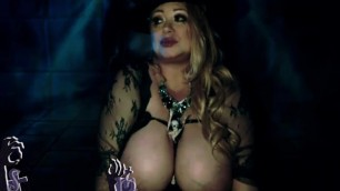 Halloween Sexy Witch with Big Boobs Samantha38g