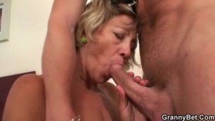 Granny Bet - Afterparty sex with granny - Miluse Havelova