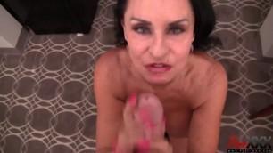 Rita Daniels Mature brunette indulges a cock men PureXXX