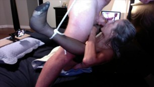 Hot MILF Facefucked by Hubby Mature MILF 60 Year old