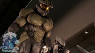 Tex Meets GIANT Master Chief