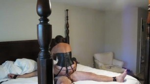 Dominatrix MILF Slow Fucks Slave while asking for another Cock