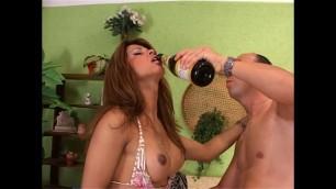 My TRANSEXUAL Girlfriend Hugs Cock - Episode #01