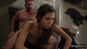 Deeper. Mick watches as his wife Gianna fucks another man