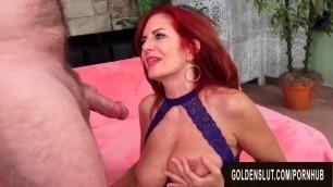 Stunning Mature Redhead Andi James Gets Passionately Plowed