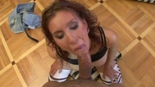 Submissive MILF Sucks And Swallows POV