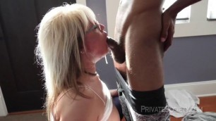 PrivateSociety Mature Woman Seeing What Black Feels Like
