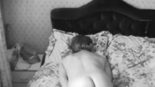 Mature wife hand humping on hidden cam