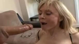 Mature blonde Nina hartley swallow compilation